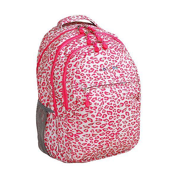 J World New York Cornelia Laptop Backpack ($24) ❤ liked on Polyvore featuring bags, backpacks, pink, school & day hiking backpacks, backpack laptop bag, pink bag, shoulder strap backpack, mesh backpack and mesh bag