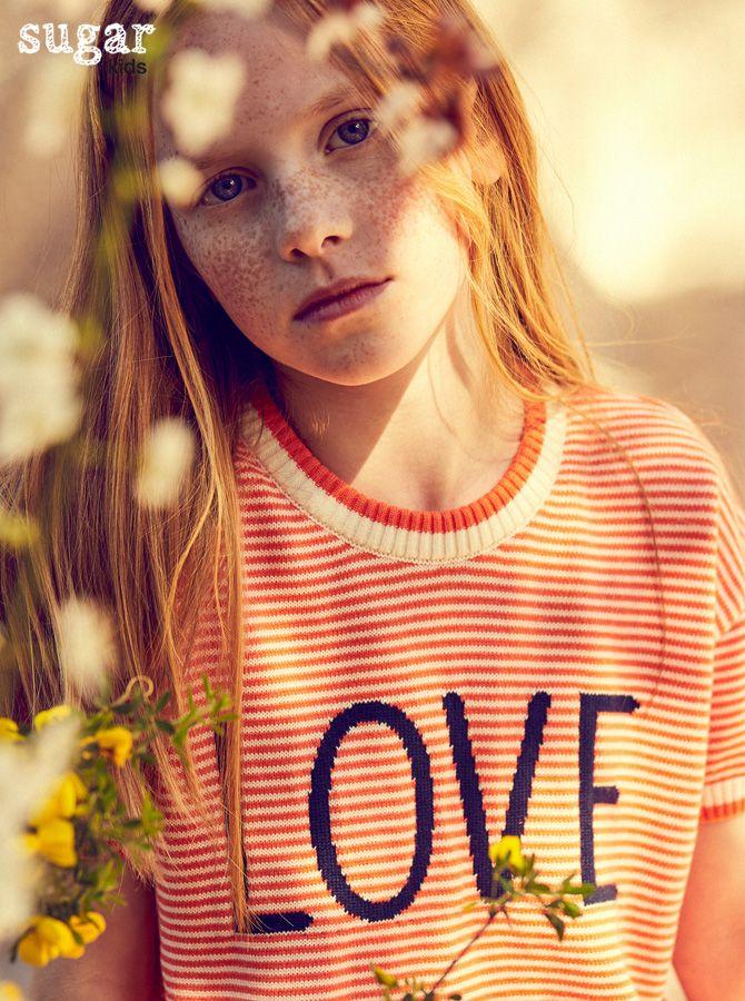 Elia from Sugar Kids for La Petite Magazine by Elena Bofill.