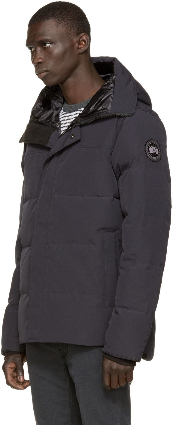 canada goose coastal shell black label mens