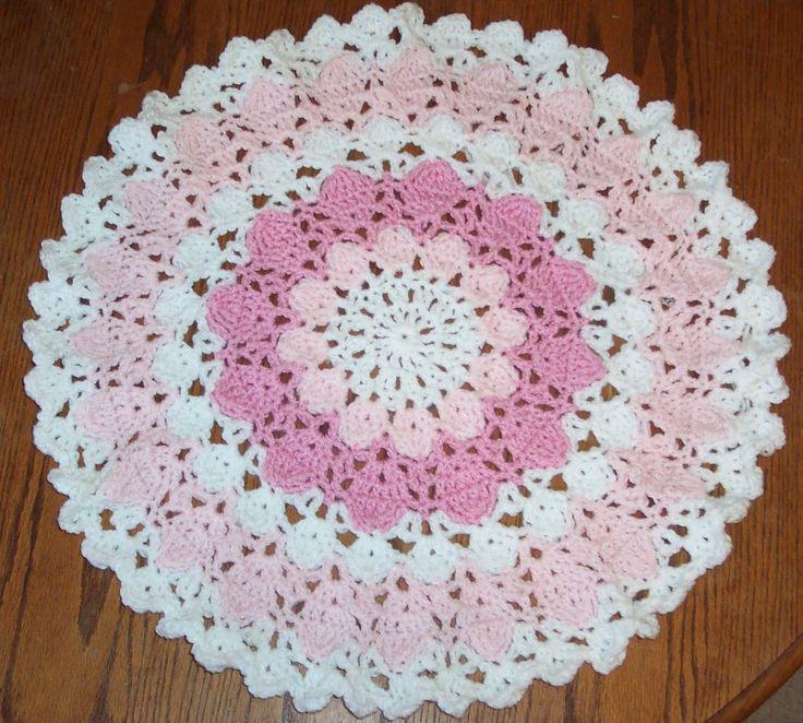 Easy Crochet Patterns For Beginners : Easy Crochet Doily for Beginners good practice for beginners also ...