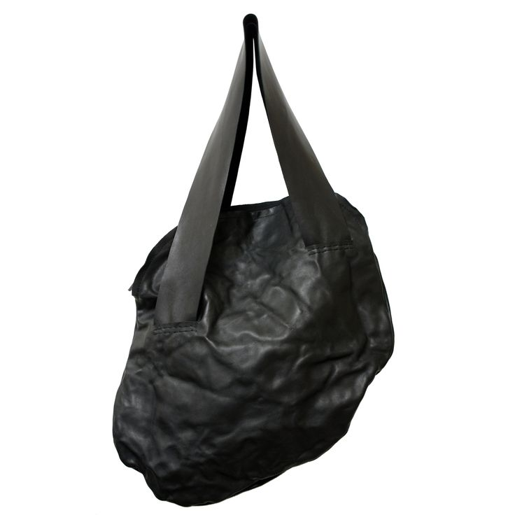 FLAT L - www.mymist.it - black shoulder bag