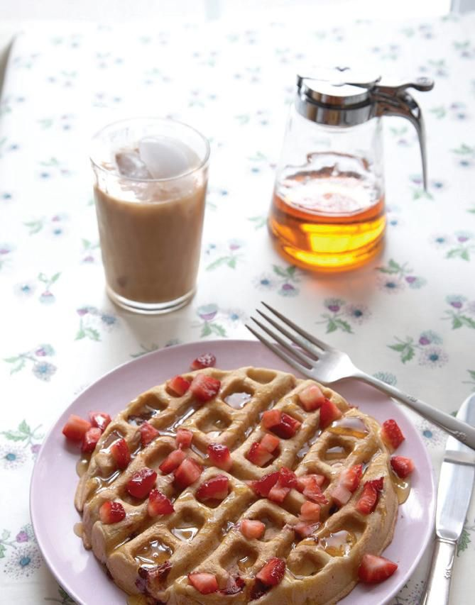 """Some of you might remember my review of Olivia """"Liv"""" Dupin's second cookbook, Gluten-Free Entertaining: More than 100 Naturally Wheat-Free Recipes for Parties and Special Occasions, a while ago. I shared both Olivia's gluten-freeMile-High Chocolate Cakerecipe and her gluten-free Double Strawberry Waffles recipe in that post when I first published it, but these lovely waffles...Read More »"""