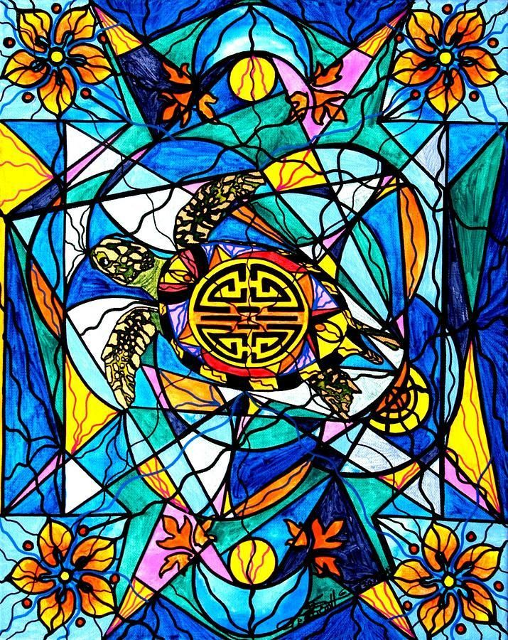 The vibration of the concept of Honu, an sacred symbol of the life force, longevity and endurance.