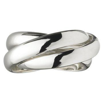 Links of London Triple Ring $240Round Rings, Rings 004, London Rings, Triple Rings, Rings My Styl, Rings #Mystyle, London Jewellery, Link Of London, Silver Rings