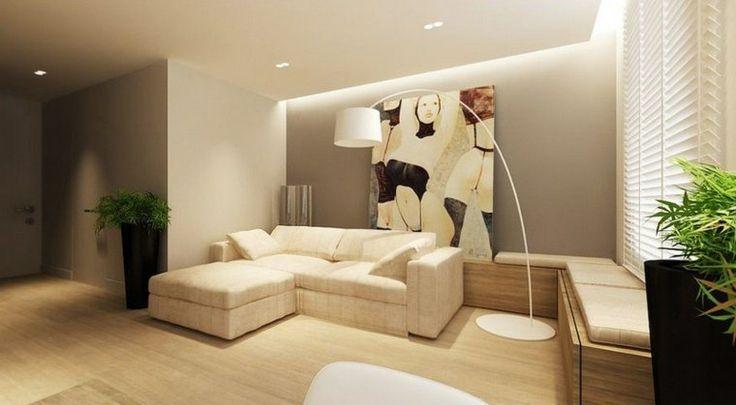 idée de décoration d'intérieur et peinture de couleur lin