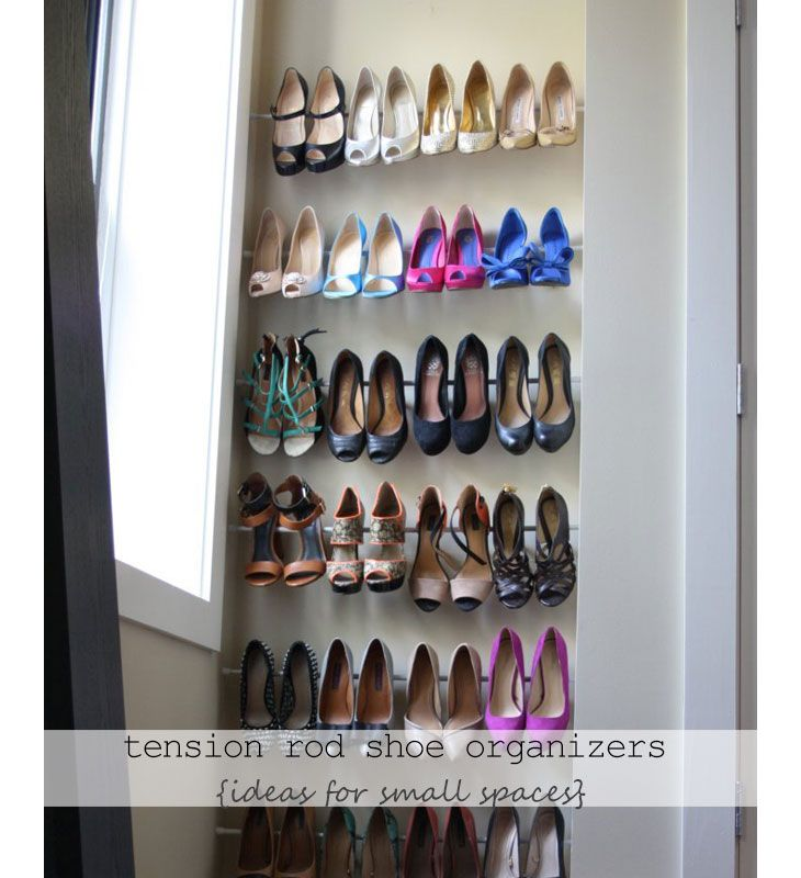 18 diy shoe storage ideas for small spaces - Small Space Diy Decor