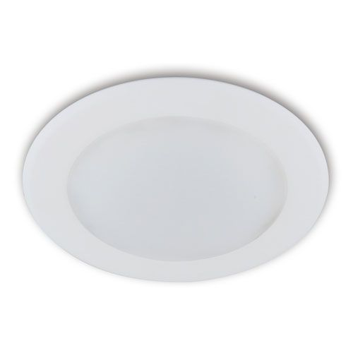 White Energy Star LED 8-Inch Outdoor Recessed Light