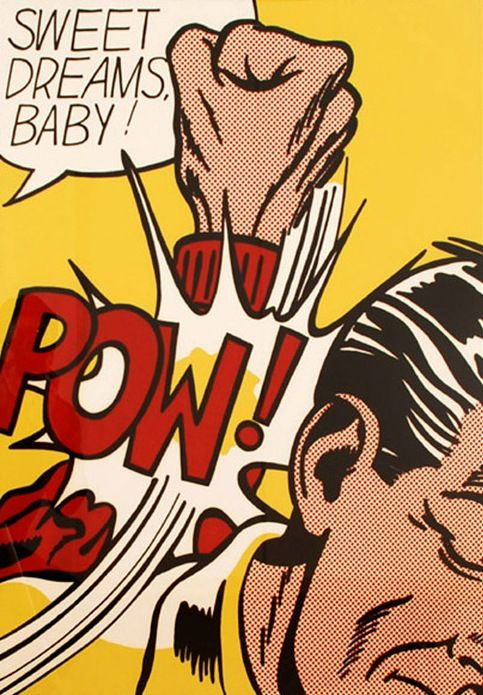 Roy Lichtenstein, Sweet Dreams Baby, 1965