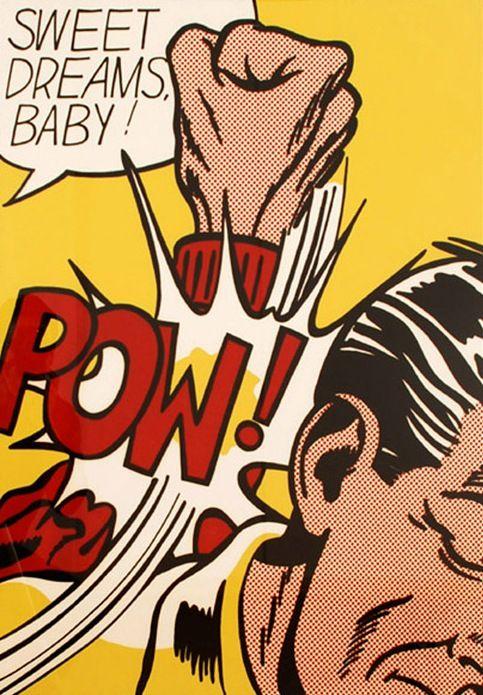 Roy Lichtenstein #Art #Pop #RoyLichtenstein #Lichtenstein #paint