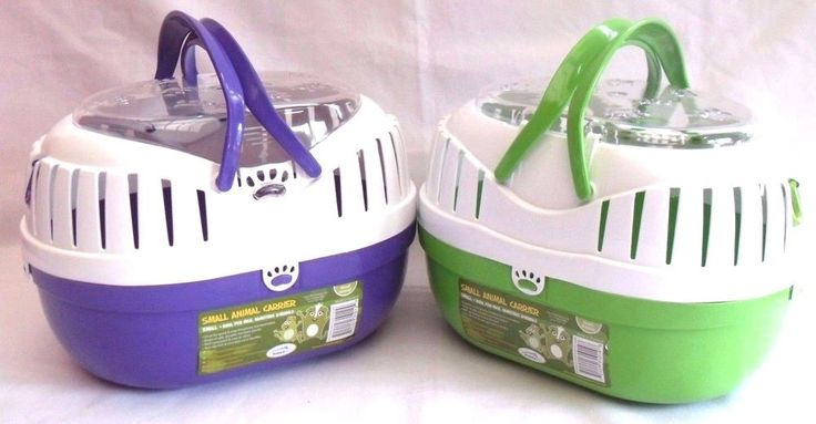 Happy Pet SMALL PET ANIMAL CARRIER Plastic travel cage hamster gerbil rat mouse  #HappyPet