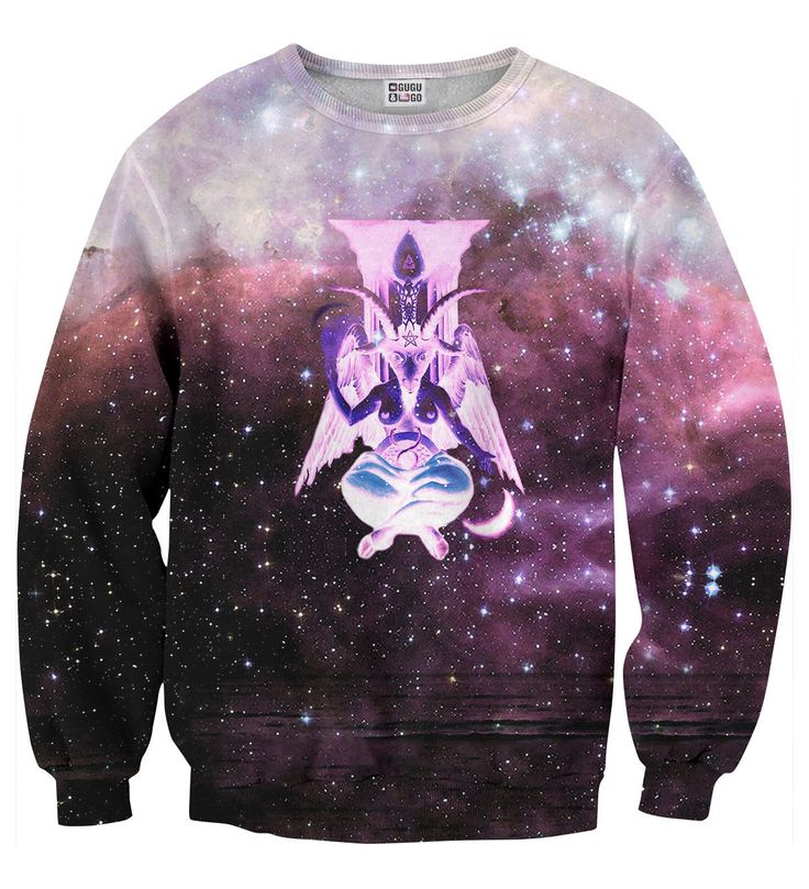 Nebula God sweater, Mr. GUGU & Miss GO