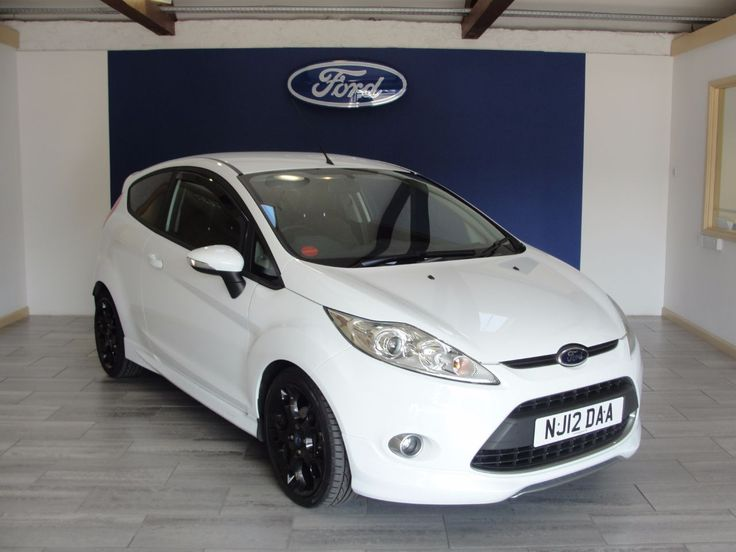 NOW SOLD - Ford Fiesta 1.6 [134] Metal - Please call 01626 352000 or visit www.swanson-ford.co.uk  #Ford #Fiesta #1.6 #White
