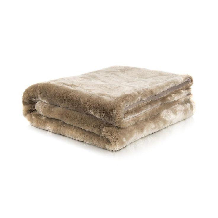 Bonded Plush Fleece Throw