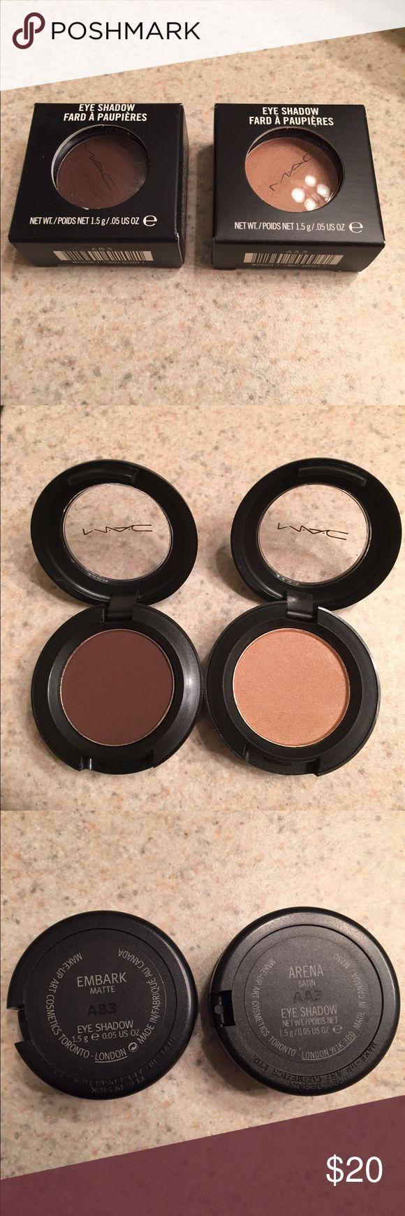 MAC Embark and Arena eyeshadow bundle NWT, unused MAC Cosmetics Makeup Eyeshadow