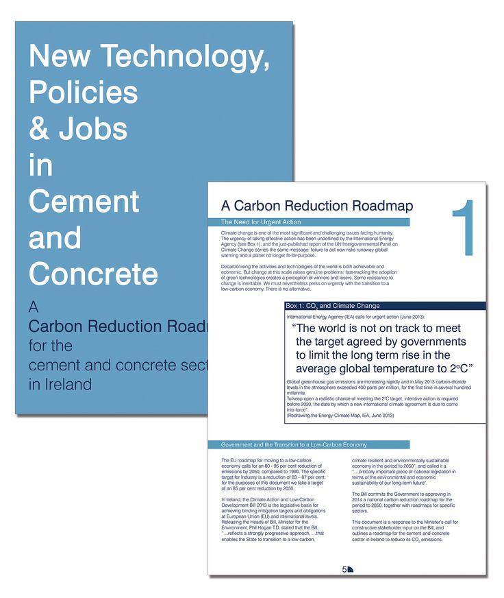 Climate change document, marketing and branding graphic design by Kingston Lafferty Design. www.kingstonlaffertydesign.com