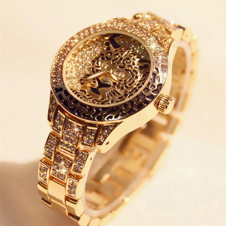 US $17.19 Frauen Uhren Damen Diamant Stein Kleid Uhr Stahl Strass Leopard Armband Armbanduhr Tiger Kristall Uhr relogio feminino #Frauen #Uhren #Damen #Diamant #Stein #Kleid #Stahl #Strass #Leopard #Armband #Armbanduhr #Tiger #Kristall #relogio #feminino
