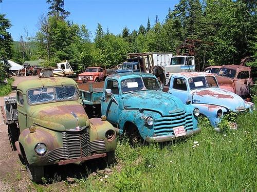 Old Trucks For Sale by rivitup, via Flickr