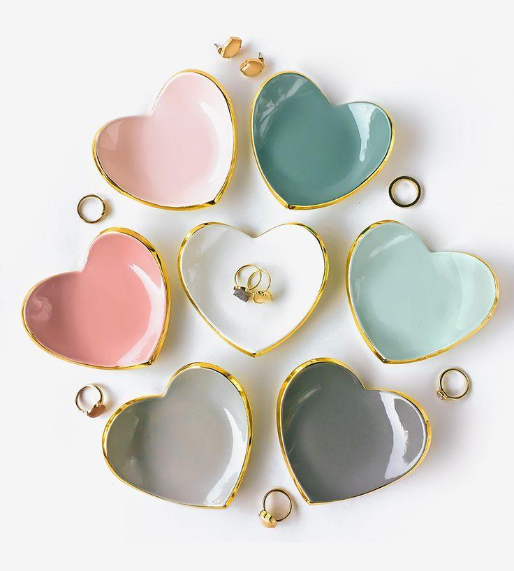 Heart Ceramic Ring Dish by Modern Mud