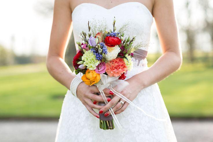 Bridal bouquet, Amerongen, The Netherlands