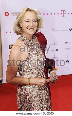 Ursula Prinzessin zu Hohenlohe at the Diva Award 2012 at Bayerischer Hof hotel. Munich, Germany - 26.06.2012 - Stock Image