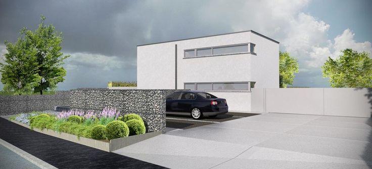 Opritten gepolierde beton google zoeken tuin terras for Ontwerp voortuin met parkeerplaats