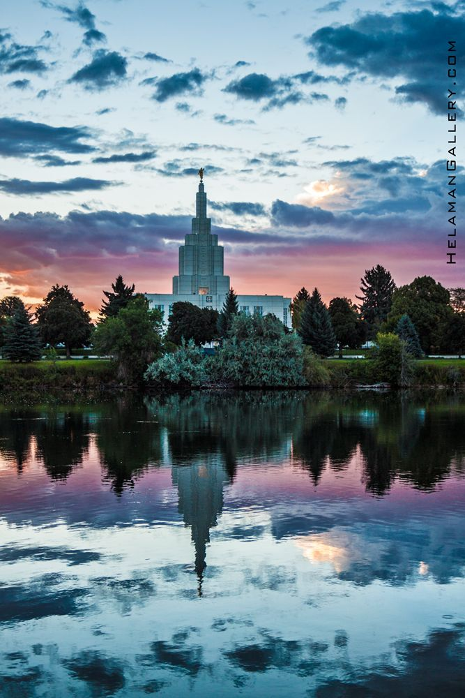 Idaho Falls Temple SPIRIT | Helaman Gallery #LDStemple #MormonTemple
