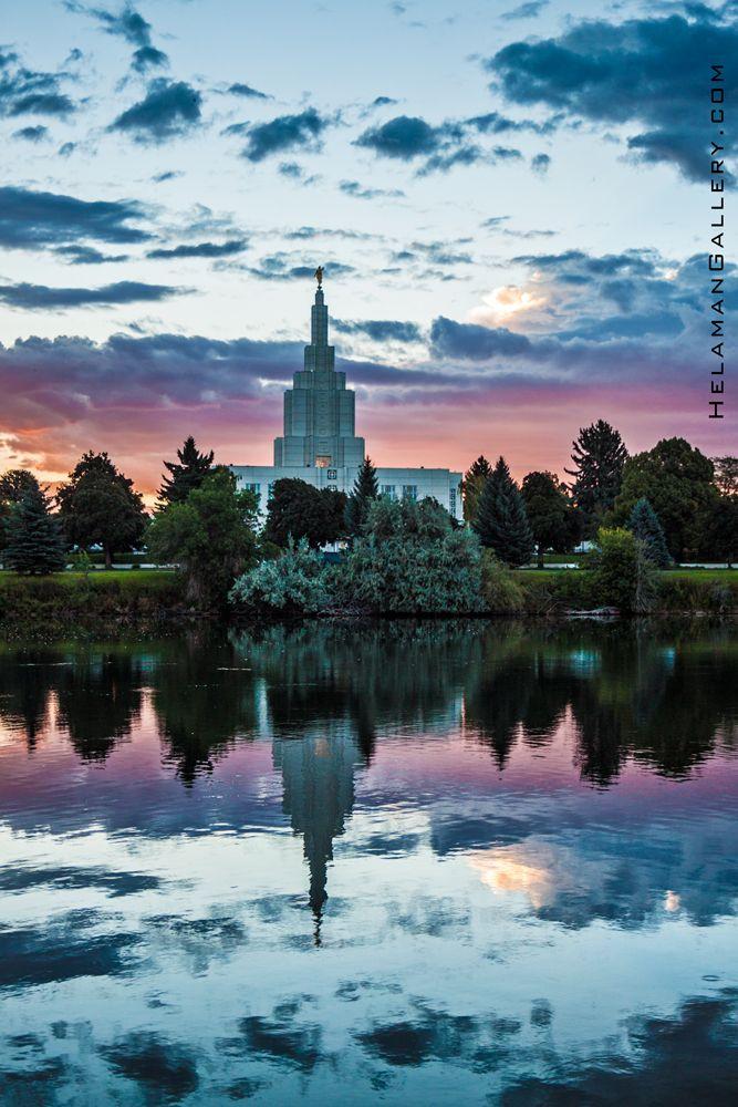 Idaho Falls Temple SPIRIT | Helaman Gallery #LDStemple #MormonTemple