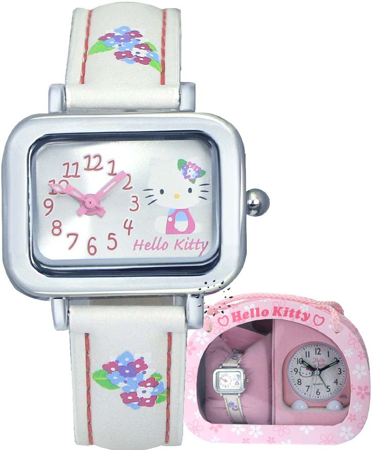 HELLO KITTY Pink Alarm Clock
