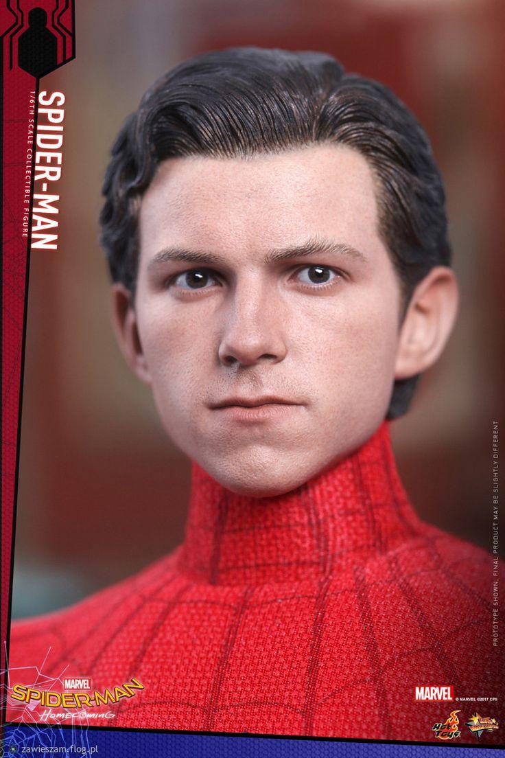 Rzeźba głowy odtwórcy Spidermana Homecoming