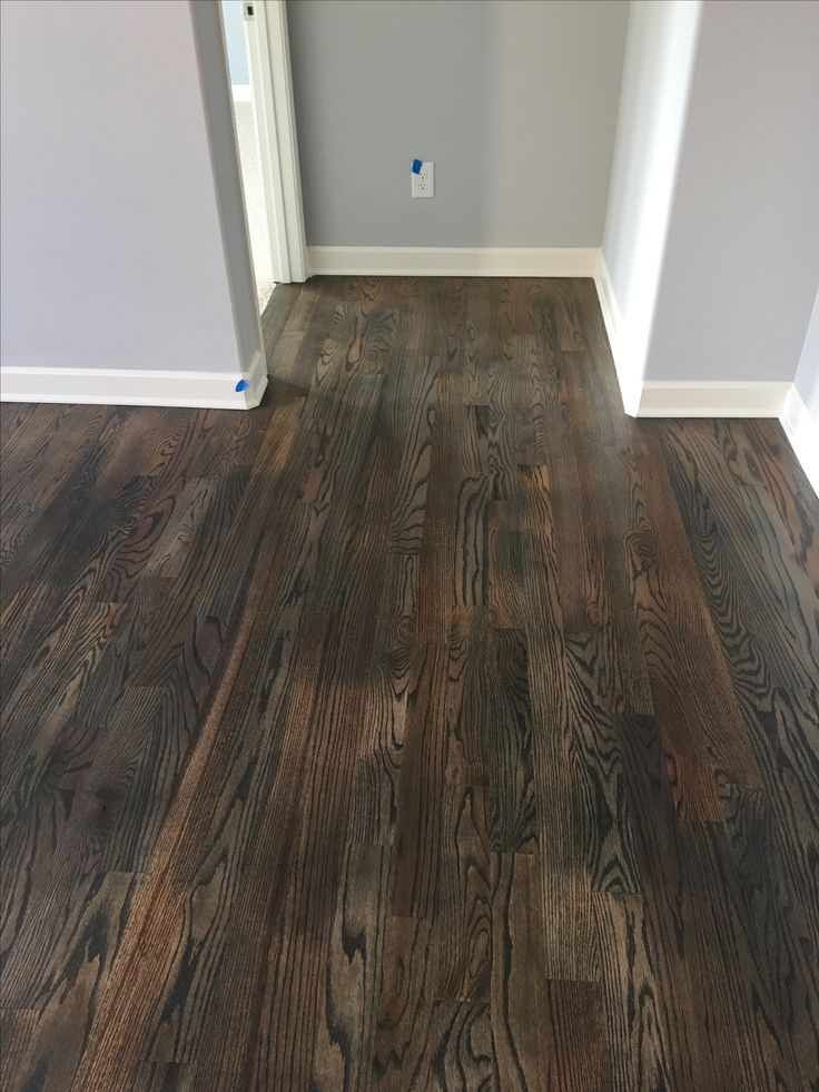 Bona stain in driftwood on white oak hardwood floors for Can you stain driftwood