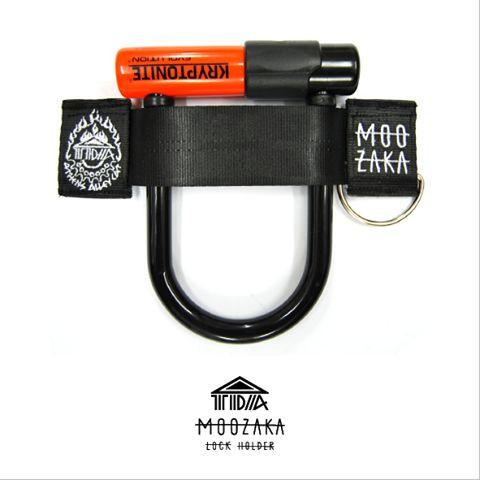 TDA x MOOZAKA U-Lock Holder  #moozaka #moozakabikestuff #builttoride #ulockholder