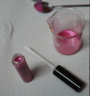 Receta Lipgloss / Brillo de labios casero muy hidratante | Cosmetica Natural Casera