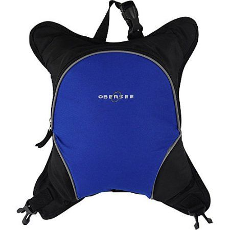 Obersee Baby Bottle Cooler Attachment, Royal Blue, Black