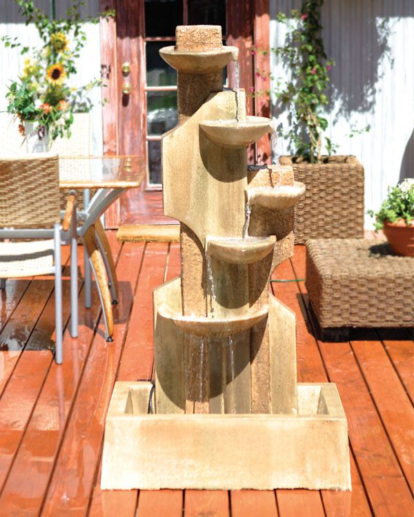 Looking for ideas for an outdoor fountain? Take a look at these incredible designs for ideas & inspiration.