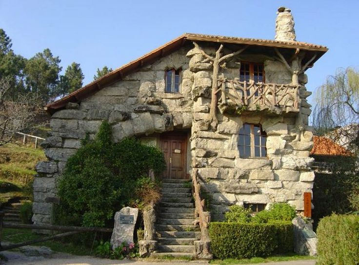 Fachadas de casas rusticas Dieseo de casa rustica Www
