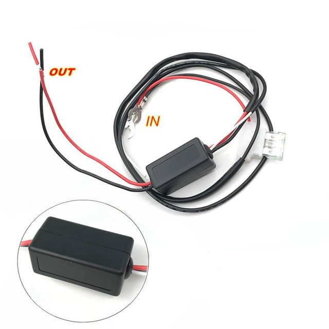 Daytime Running Lights Controller,DRL Controller Auto Car LED Daytime Running Light Relay Harness Dimmer