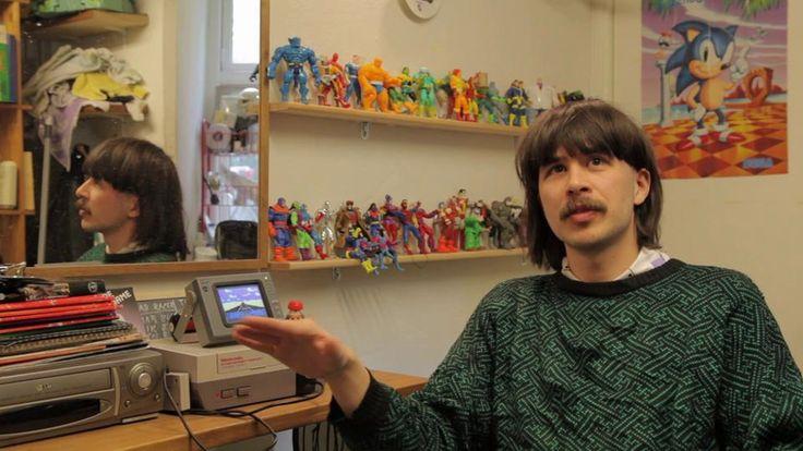 Copenhagers: RETRO BOBBY on Vimeo hairdresser & gameshop