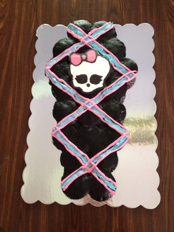 How To Make A Monster High Car Birthday Cake