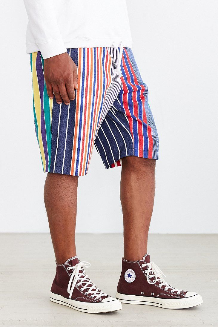 Woolrich Multi-Stripe Expo Short - Urban Outfitters