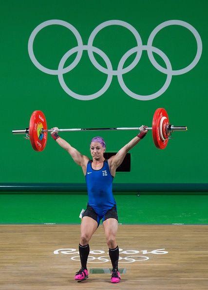 #RIO2016 Anni Teija Orvokki Vuohijoki of Finland competes during the Women's…