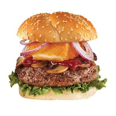 Le décadent burger bœuf et parmesan