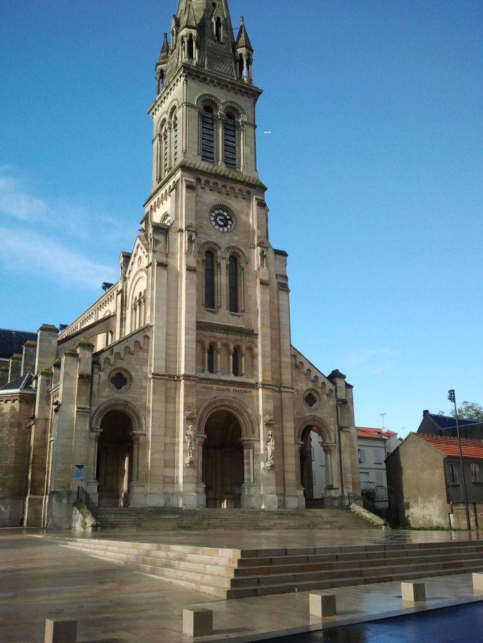 Argenteuil, basilique Saint-Denis, place Jean Eurieult