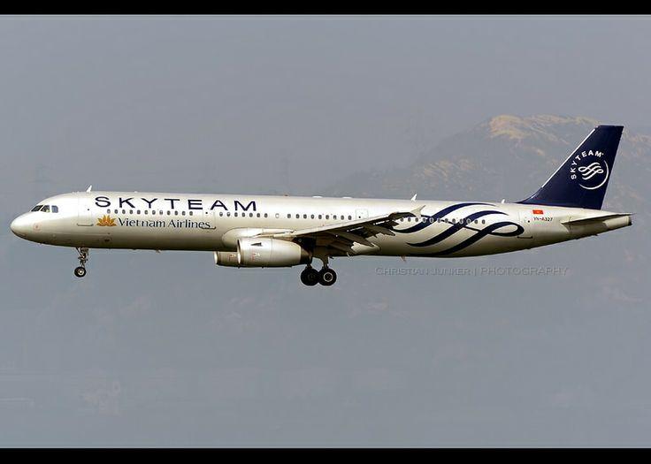 Airbus | A321-231 | Vietnam Airlines | SkyTeam Scheme | VN-A327 | Hong Kong | HKG | VHHH