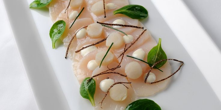 This scallops recipe is made with the freshest of hand dived scallops and served with a lovely truffle vinaigrette. William Drabble shares a lovely carpaccio recipe