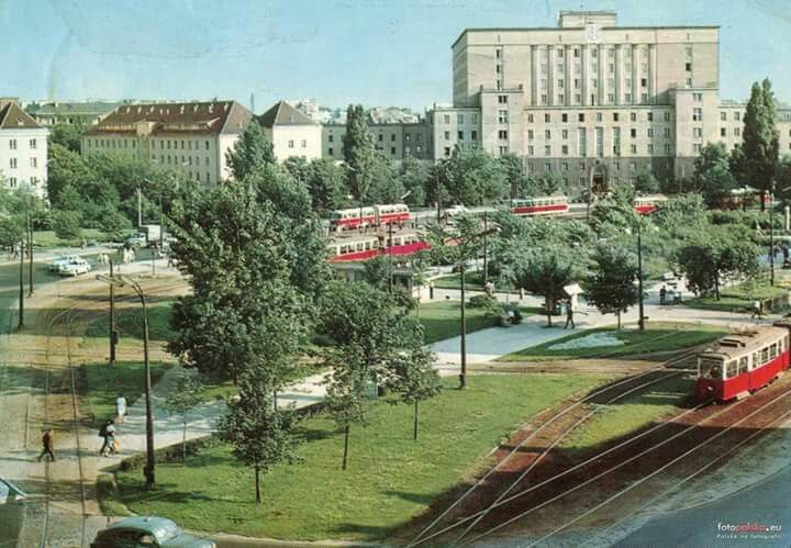 Plac Narutowicza, lata '60