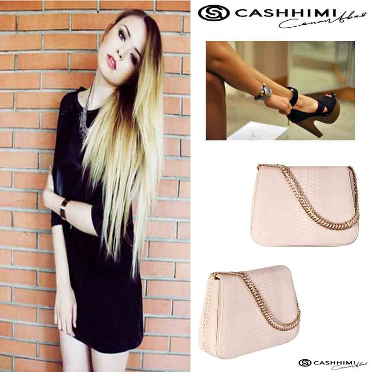 Cashhimi WHITE KING  Leather Clutch