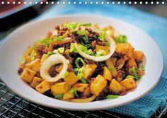 Tumis Kentang Daging Cincang ~ Ga pake lama,simpel,lezat!