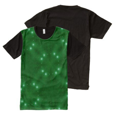 Star Pattern green All-Over-Print Shirt - click to get yours right now!
