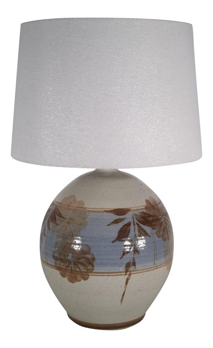 Vintage California Pottery Table Lamp Chairish Lamp