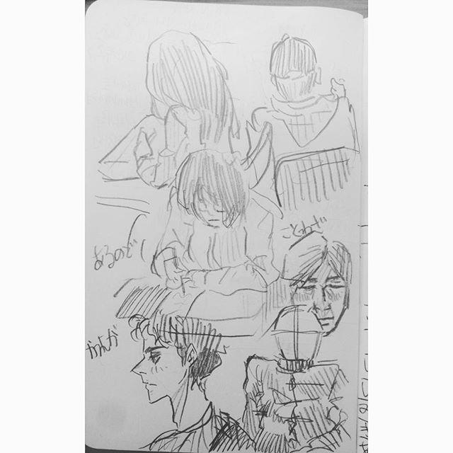 wayamajr落書き✏️ . . . . . . #日本#東京#埼玉#落書き#絵#漫画#楽しい#モレスキン#メモ#일본#도쿄#사이타마#낙서#그림#몰스킨#메모#일상#memo#moleskine#cartoon2017/09/30 14:44:31